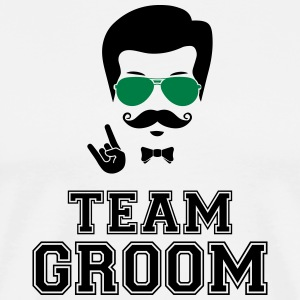 Team groom bachelor party - Men's Premium T-Shirt