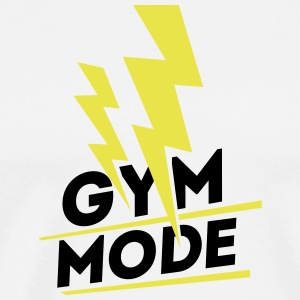 Gym Mode, gym wear - Men's Premium T-Shirt