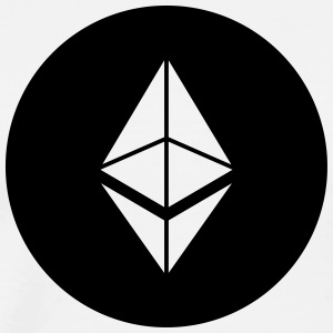 Ethereum logo - Men's Premium T-Shirt