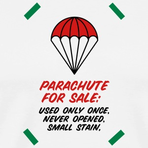 Parachute For Sale.Only Once Opened! - Men's Premium T-Shirt