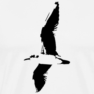 Gull - Seagull - Men's Premium T-Shirt