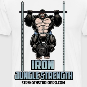 Iron Jungle Strength - Men's Premium T-Shirt