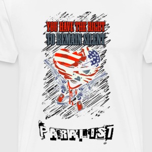 The right to remain silent - Men's Premium T-Shirt