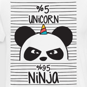 5 percent unicorn 95 percent ninja - Men's Premium T-Shirt