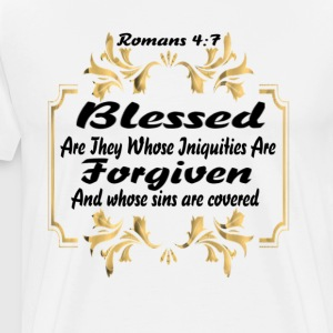 Blessed and Forgiven - Men's Premium T-Shirt