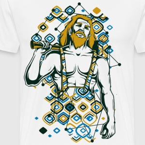 THOR nordic god of thunder, lightning and storms - Men's Premium T-Shirt