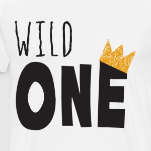 Wild One Raglan Shirt or bodysuit Wild One Shirt f - Men's Premium T-Shirt