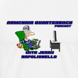 Armchair Quarterback Podcast - Men's Premium T-Shirt