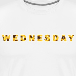 Sunflower Wednesday - Men's Premium T-Shirt