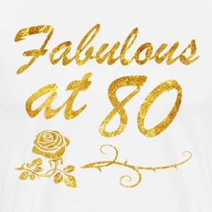 Fabulous at 80 years - Men's Premium T-Shirt