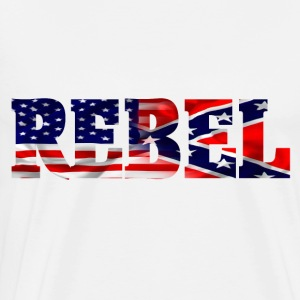 Confederate Rebel - Men's Premium T-Shirt