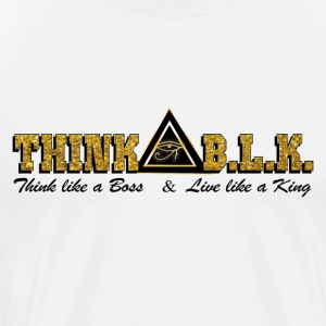 Think B.L.K. (Kingdom) - Men's Premium T-Shirt
