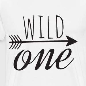 Birthday shirt wild one shirt 1st birthday shirt h - Men's Premium T-Shirt