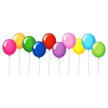 Ten Birthday Balloons Mens Premium T Shirt