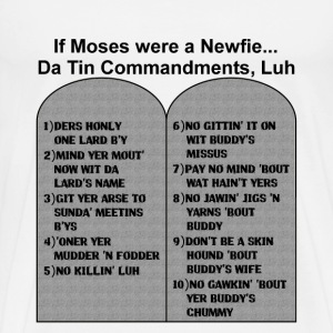 IF MOSES WERE A NEWFIE