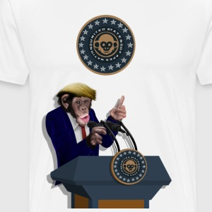 Leader of the apes t-shirt - Men's Premium T-Shirt