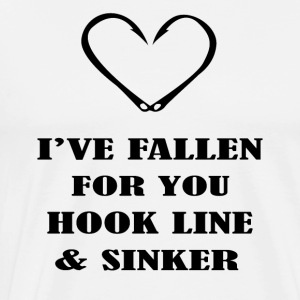 i ve fallen for you hook line sinker - Men's Premium T-Shirt