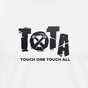 Touch One Touch All original logo - Men's Premium T-Shirt