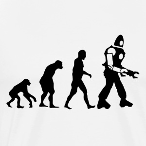 Evolution of Robot - Men's Premium T-Shirt