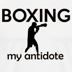 boxing design - Men's Premium T-Shirt