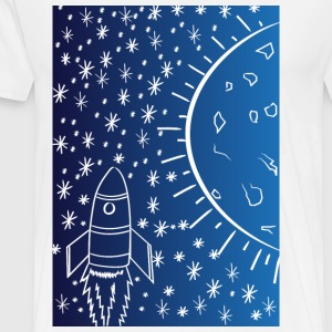 Moon Travel - Men's Premium T-Shirt