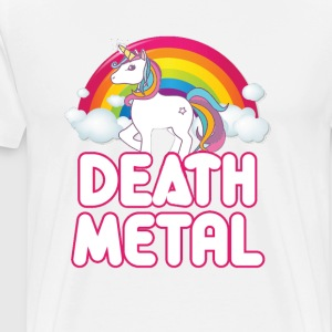 Unicorn Death Metal - Men's Premium T-Shirt