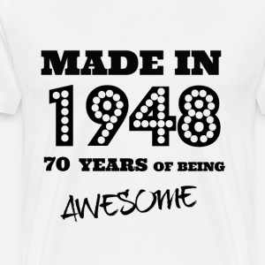 Made in 1948 70th Bday
