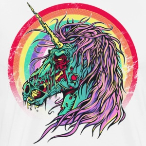 Zombie Unicorn Gift Shirt Pre - Men's Premium T-Shirt