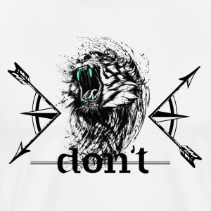 Don't wake up the Tiger - Men's Premium T-Shirt
