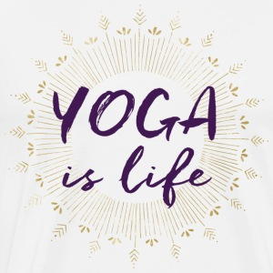 Yoga is Life - Men's Premium T-Shirt