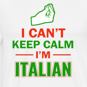 Funny Italian designs - Men's Premium T-Shirt