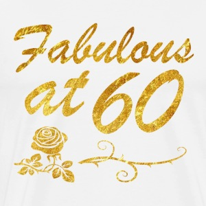 Fabulous at 60 years - Men's Premium T-Shirt