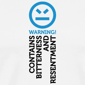 Warning - Contains Frustration And Hatred - Men's Premium T-Shirt