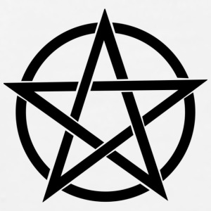 Cool looking Pentagram - Men's Premium T-Shirt