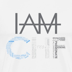 IAM____ - Men's Premium T-Shirt