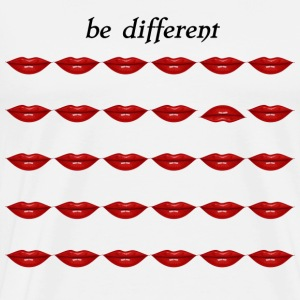 Be different Lips - Men's Premium T-Shirt