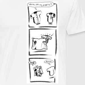 Puppies - Men's Premium T-Shirt