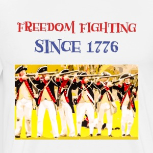 IMG 3757 Freedom Fighting Since 1776 USA, Shirt - Men's Premium T-Shirt