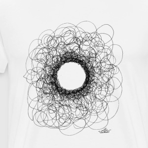 Scribble Test - Men's Premium T-Shirt