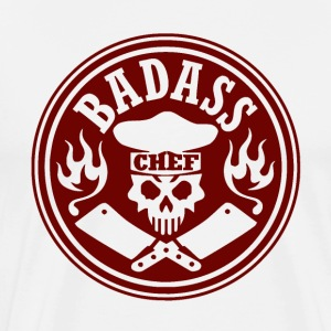 badass chef red - Men's Premium T-Shirt