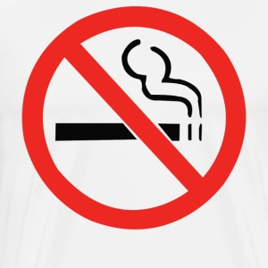 No Smoking Anti - Men's Premium T-Shirt