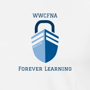 WWCFNA Forever learning - Men's Premium T-Shirt