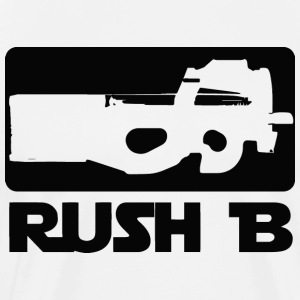 CS GO shirt. Rush B - Men's Premium T-Shirt