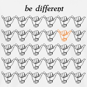 Be different Tranquilo - Men's Premium T-Shirt
