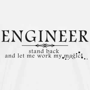Engineer Stand back T Shirt - Men's Premium T-Shirt