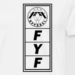 FYF Side Shirt Logo Design - Men's Premium T-Shirt