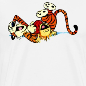 Calvin And Hobbes Silly - Men's Premium T-Shirt