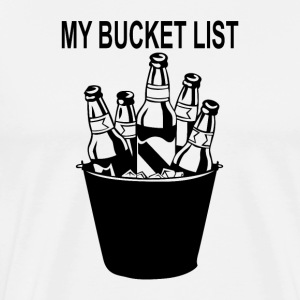 my bucket list - Men's Premium T-Shirt