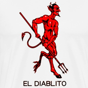 El Diablito The Devil Tarot Cards Readings - Men's Premium T-Shirt