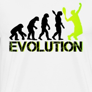Tennis Evolution Shirts - Men's Premium T-Shirt